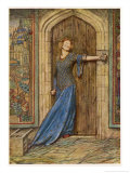 When Conspirators Seek to Murder James I of Scotland Giclee Print by Eleanor Fortescue Brickdale