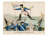 Napoleon Returns from Elba Alarming the Authorities at Paris Giclee Print by Felix Fleury