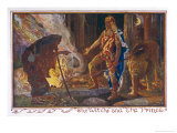 The Witch and the Princes Giclee Print by Henry Justice Ford