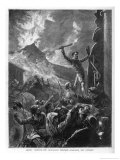 Vesuvius Saint Fails Giclee Print by Godefroy Durand