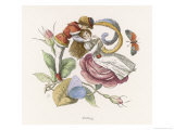 Fairies Flirting Giclee Print by Richard Doyle