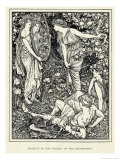 Perseus in the Garden of the Hesperides Giclee Print by Henry Justice Ford