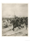 The Charge of the Light Brigade, into the Valley of Death! Giclee Print by Henri Dupray