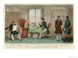 Visit to a Money Lender Giclee Print by Robert Cruickshank
