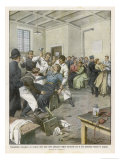 Suffragettes Force-Fed in Prison Giclee Print by Achille Beltrame