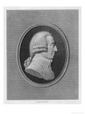 Adam Smith Economist Giclee Print by William Holl the Younger