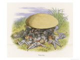Elves Reposing Giclee Print by Richard Doyle