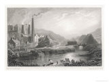 Ironworks at Coalbrookdale Shropshire Giclee Print by Henry Gastineau