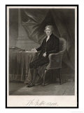 Thomas Jefferson Third President of the United States Reproduction proc&#233;d&#233; gicl&#233;e par Chappel 