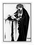 The Dancer's Reward: The Head on a Platter Premium Giclee Print by Aubrey Beardsley