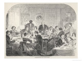 Thanksgiving Dinner Giclee Print by Winslow Homer
