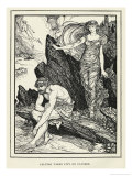 Calypso and Odysseus Giclee Print by Henry Justice Ford