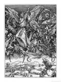 And There was War in Heaven Gicl&#233;e-Druck von Albrecht D&#252;rer