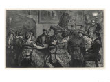 Witchcraft in 1871, an Exciting Seance Held by Frank Herne and Charles Williams Giclee Print by Arthur Boyd