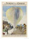Weather Balloons Have Been the Cause of Many UFO Identifications Giclee Print by Giorgio De Gaspari