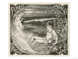Ferko is Healed by the Magic Waters Giclee Print by Henry Justice Ford