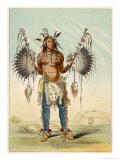 Medicine Man of the Mandan People Giclee Print by George Catlin
