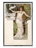 Tristan Und Isolde Premium Giclee Print by H. Frundt