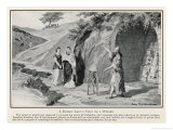 Roman Lady in Britain Consults a Native Magician Giclee Print by John F. Campbell