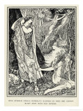 King Athamas and Nephele Giclee Print by Henry Justice Ford
