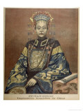 Tzu-Hsi Also Known as Hsiao-Ch&#39;In &amp;C Empress of China Giclee Print by Eugene Damblans