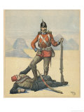 Un Protecteur the French are Cynical About Britain's Intentions in Their Occupation of Egypt Giclee Print by Henri Meyer
