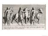 The Funeral Rites of Patroclus Giclee Print by Pietro Santi Bartoli