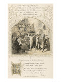 16th Century Banquet Giclee Print by Birket Foster