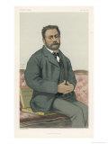 Emile Zola French Novelist Giclee Print by  Chartran