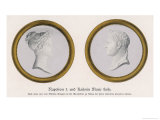 Napoleon I and Marie Louise Giclee Print by N. Bertrand
