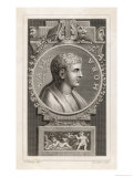 Quintus Horatius Flaccus Roman Writer Giclee Print by Cooper 