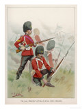 87th Regiment Giclee Print by G.d. Giles