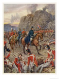 Badajoz Supposed Impregnable Surrenders to Wellington after a Sustained Siege Giclee Print by Howard Davie