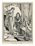 The Abduction of Helen of Troy by Paris, The Cause of the War Between Greece and Troy Giclee Print by Henry Justice Ford