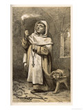 Dominican Monk Giclee Print by A. Arnst