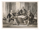 Gustaf III Goes to Aix-La-Chapelle to Confer with French Royals in Exile from the Revolution Giclee Print by C.a. Dahlstrom