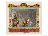 Judy Beats Punch Giclee Print by George Cruikshank