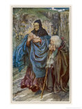 The Infant Arthur is Found Upon the Sands of Dundagil by the Cornish Sea Giclee Print by Eleanor Fortescue Brickdale
