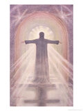 Jesus Depicted as the Advocate Giclee Print by Elizabeth Bruce Adams