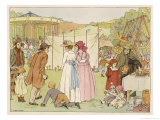 Village Fair Giclee Print by Francis Bedford