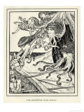 Scylla the Six-Headed Monster Giclee Print by Henry Justice Ford