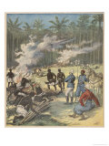 French in Dahomey Giclee Print by Henri Meyer