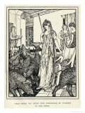 Circe the Sorceress Turns Odysseus' Men into Swine and Sends Them to the Styes Giclee Print by Henry Justice Ford