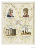 The Nativities of Louis XVI and Marie Antoinette Show Their Tragic Destiny Giclee Print by  Dodd