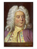 George Frederic Handel German-English Musician Giclee Print by Eichhorn
