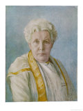 Annie Besant English Theosophist and Indian Political Leader, Portrait Giclee Print by F.a. Fuller