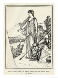 Helen Points out the Chief Heroes in the Greek Host to Priam Giclee Print by Henry Justice Ford