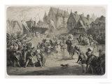 Death of Henri II Giclee Print by Jules David