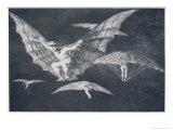 Modo De Volar Giclee Print by Francisco de Goya