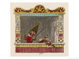 Punch Beats Judy Giclee Print by George Cruikshank